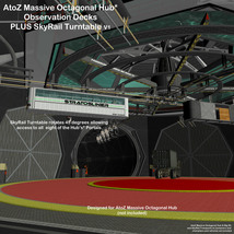 AtoZ Massive Oct Hub SkyRail and Observation Decks I v1 image 1