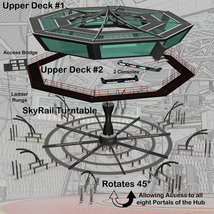 AtoZ Massive Oct Hub SkyRail and Observation Decks I v1 image 4
