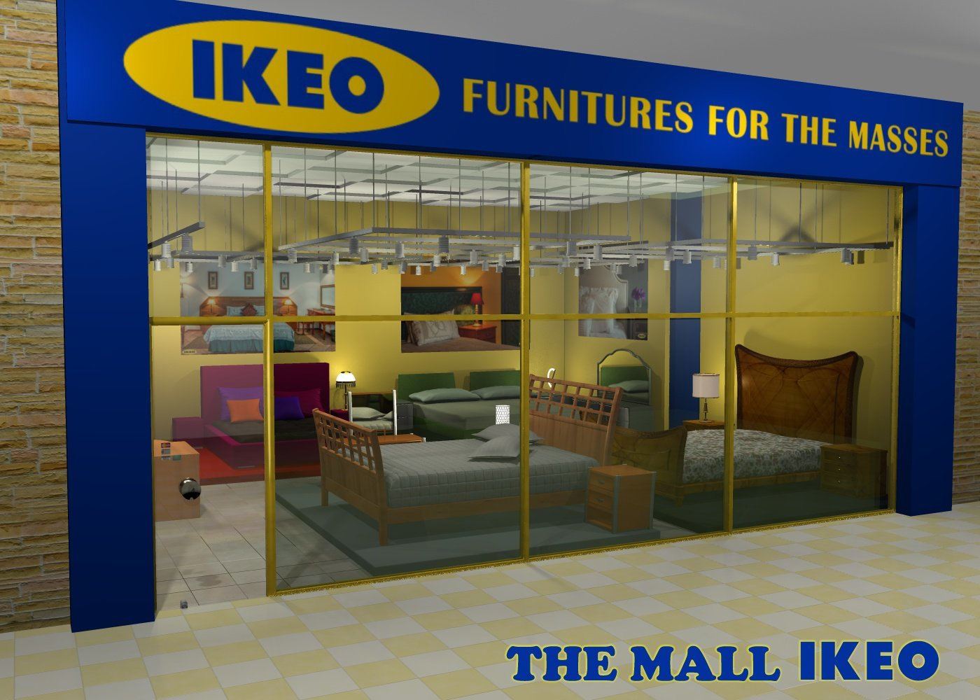 The Mall - IKEO - Extended License by greenpots