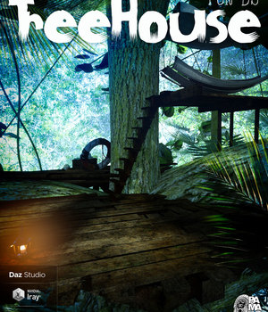 Treehouse for DS 3D Models pamawo