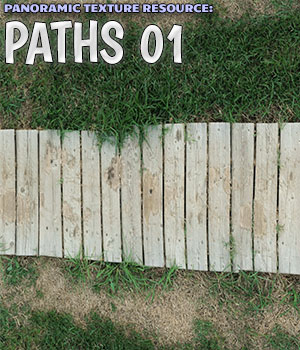 Panoramic Texture Resource: Paths 1 2D Graphics Merchant Resources ShaaraMuse3D