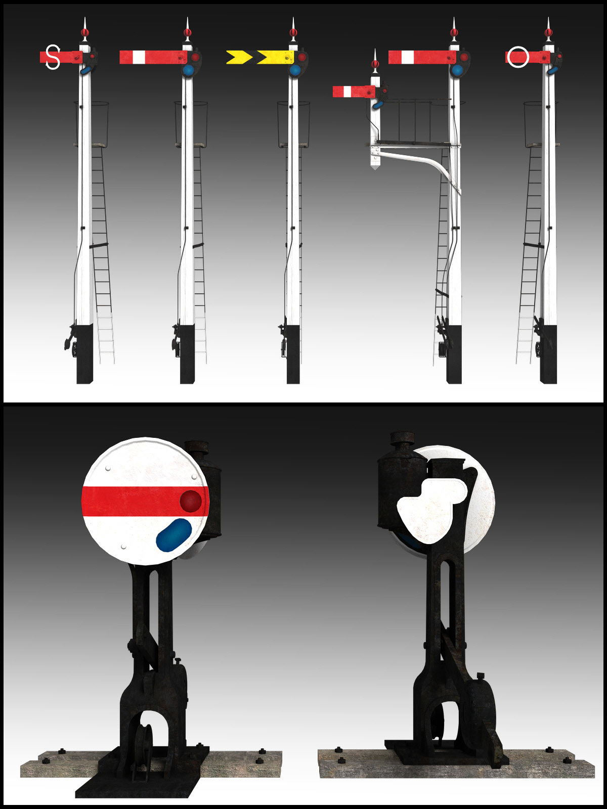 GWR Signal Set - Extended License by DryJack