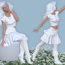 White for New Age image 2