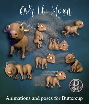 Over the Moon 3D Figure Assets RPublishing