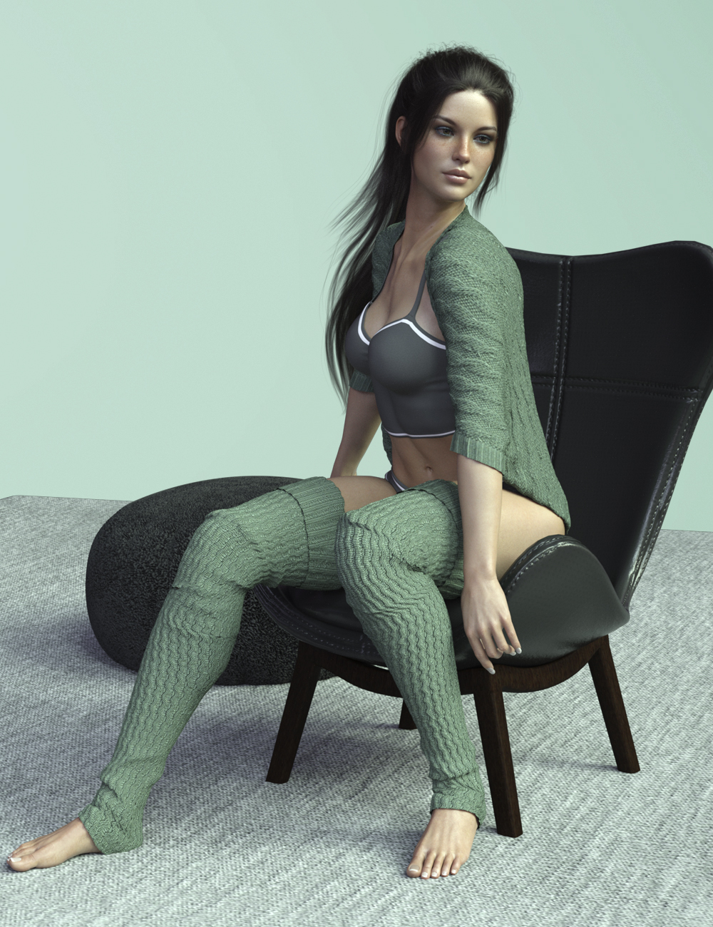 X-Fashion Nana Outfit for Genesis 8 Female(s) by xtrart-3d