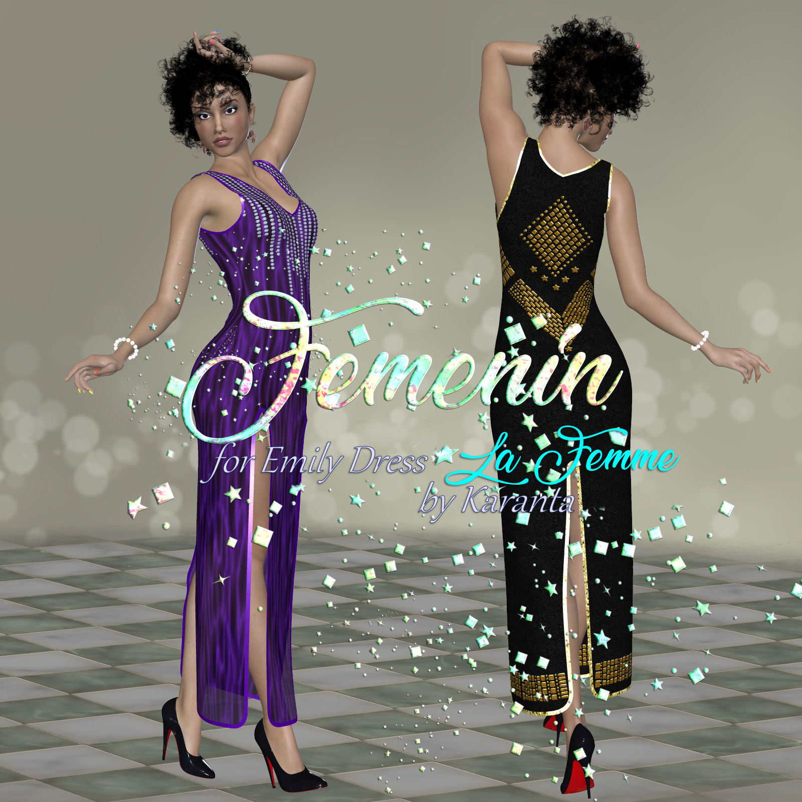 DA-Femenin for Emily Dress