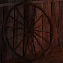Modular Mining Town: 7. Livery Stable for Daz image 1