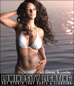 SV Luminosity Lighting Skies and Water 3D Lighting : Cameras Sveva