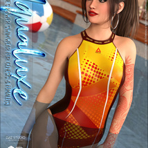 Aqualuxe for Power Swimwear for Genesis 8 Female(s) image 5