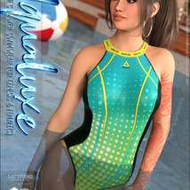 Aqualuxe for Power Swimwear for Genesis 8 Female(s) image 6