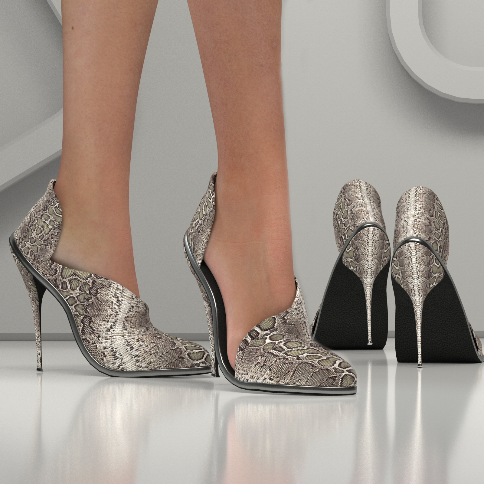 LA POINTED TOE SHOES by RPublishing