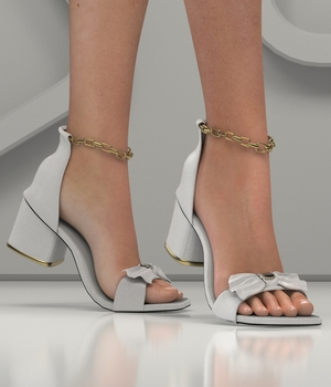 LA PEEP TOE SHOES 3D Figure Assets RPublishing