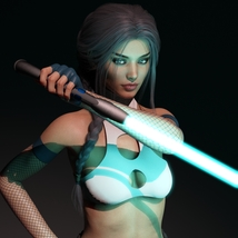Aegis Sword III for Genesis 3 and 8 Females image 3