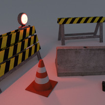 Photo Props: Roadblock - Extended License image 3