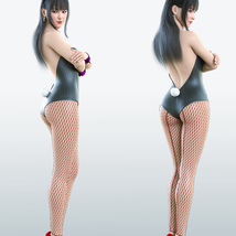 Cutie Bunny Outfit for Genesis 8 Female image 5