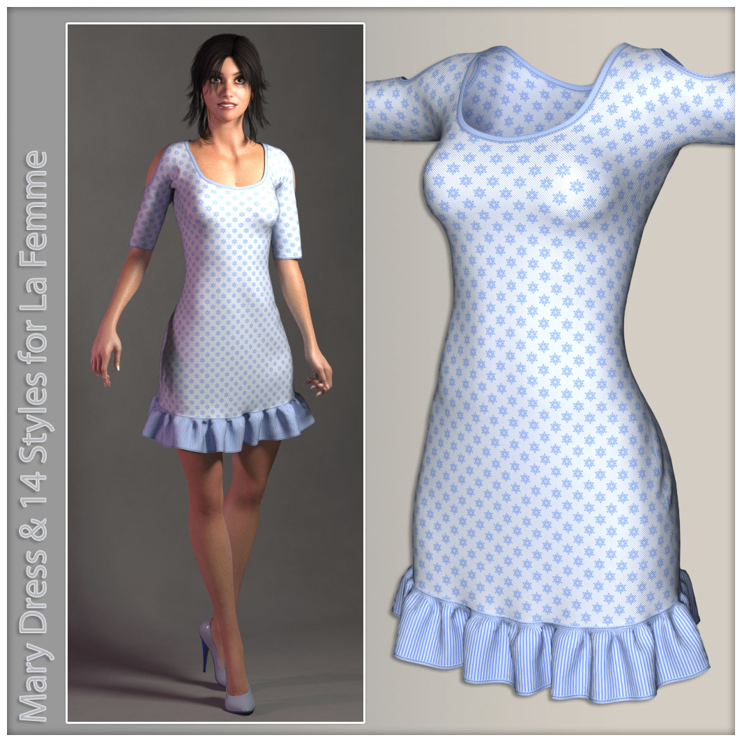 Mary Dress for La Femme