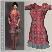 Mary Dress for La Femme image 1