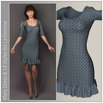 Mary Dress for La Femme image 2