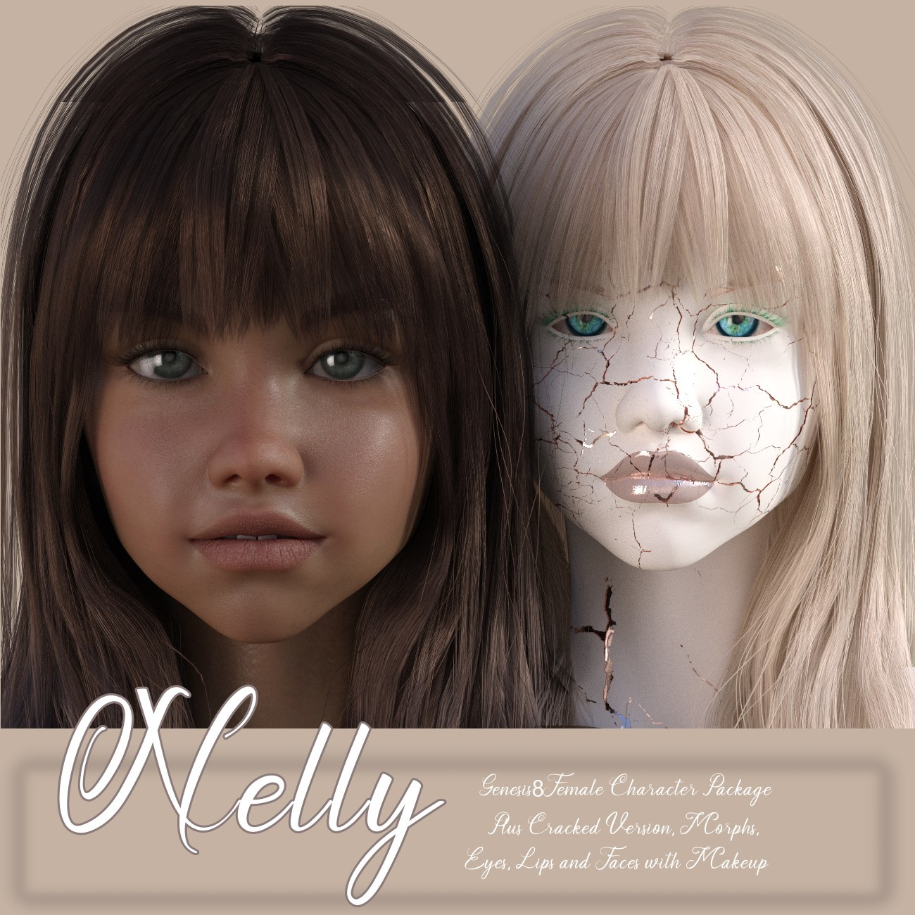 TEEN- NELLY G8F by LUNA3D