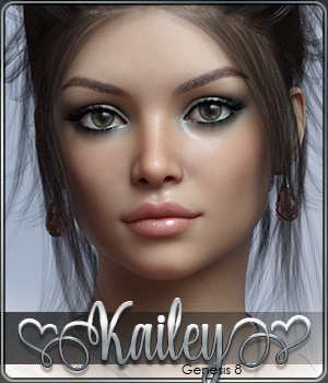 SASE Kailey for Genesis 8 3D Figure Assets Sabby