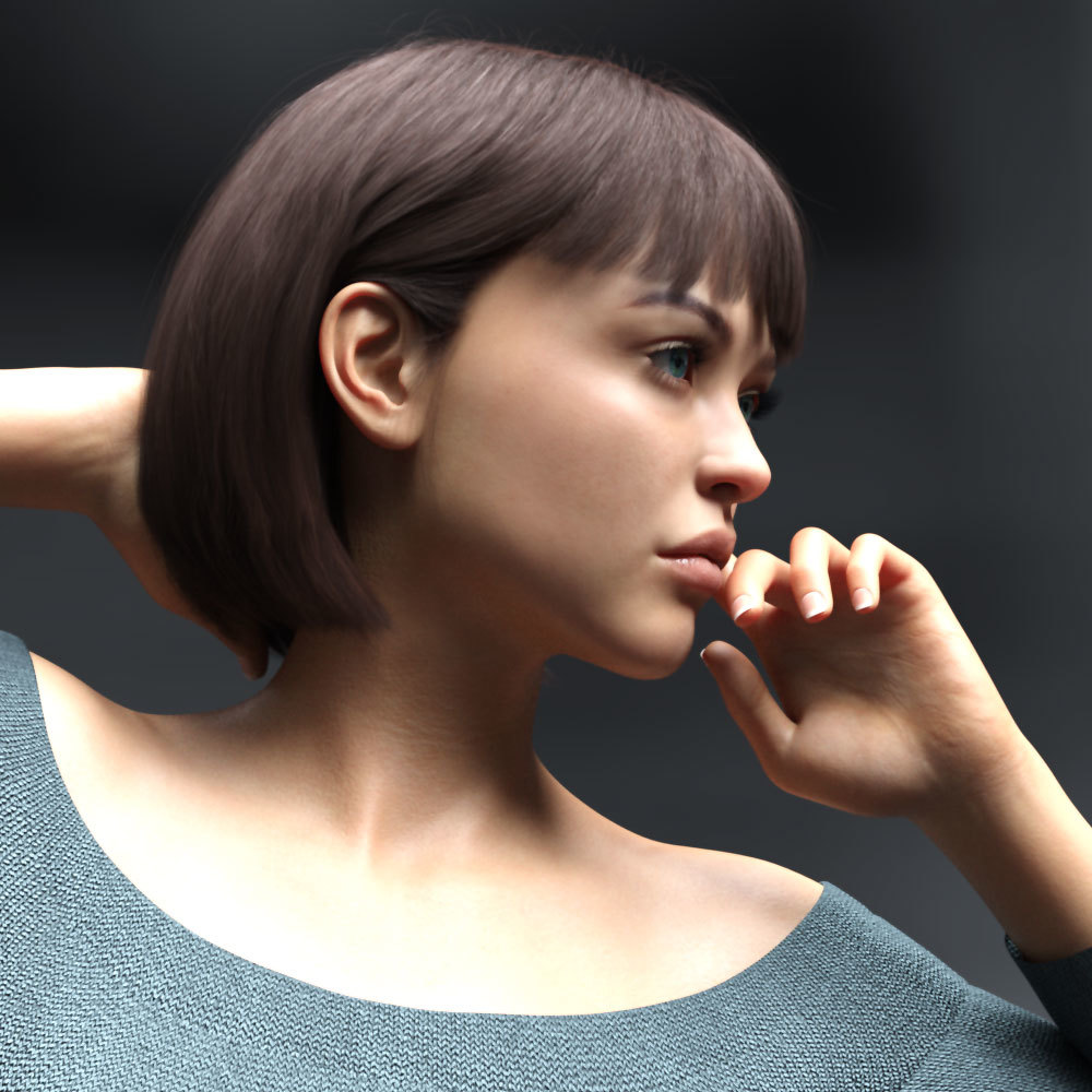 LA Beth for Genesis 8 Female