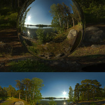 Midsummer Lake 16K HDRIs image 3