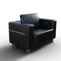 Furniture and Props set for Poser and Daz Studio image 9