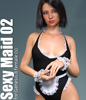 dforce Sexy Maid 02