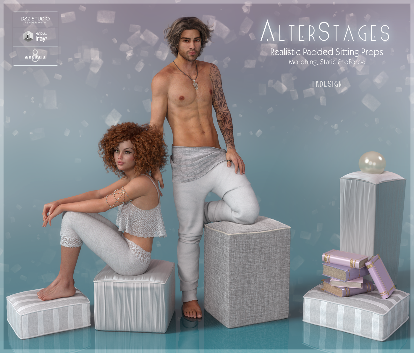 AlterStages - Padded Sitting Props by fabiana