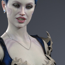 Monicia Character and Hair for Genesis 8 Female image 1