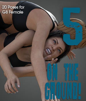 ON THE GROUND! vol.5 for Genesis 8 Female 3D Figure Assets PainMD
