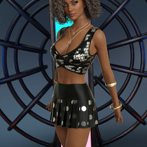 InStyle - JMR dForce Sofia Outfit for G8F image 5