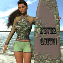 VERSUS - Surfer Girl Outfit for Genesis 8 Female image 3