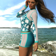 VERSUS - Surfer Girl Outfit for Genesis 8 Female image 5