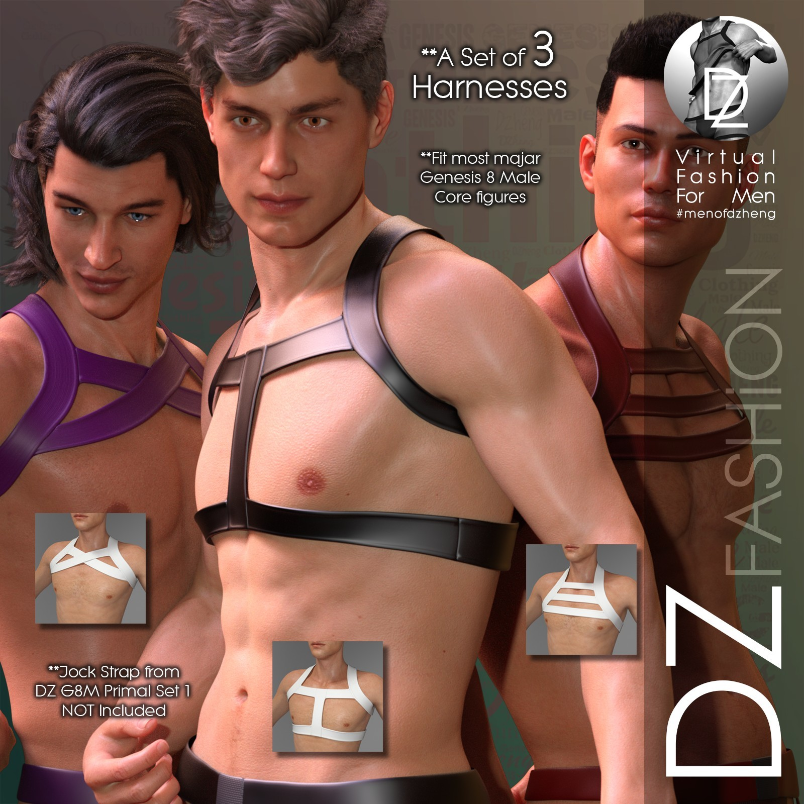 DZ G8M Primal - Harness Collection 1 by dzheng