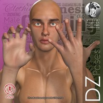DZ LH Hand Gestures 2 for L'Homme image 1