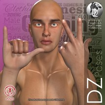 DZ LH Hand Gestures 2 for L'Homme image 2