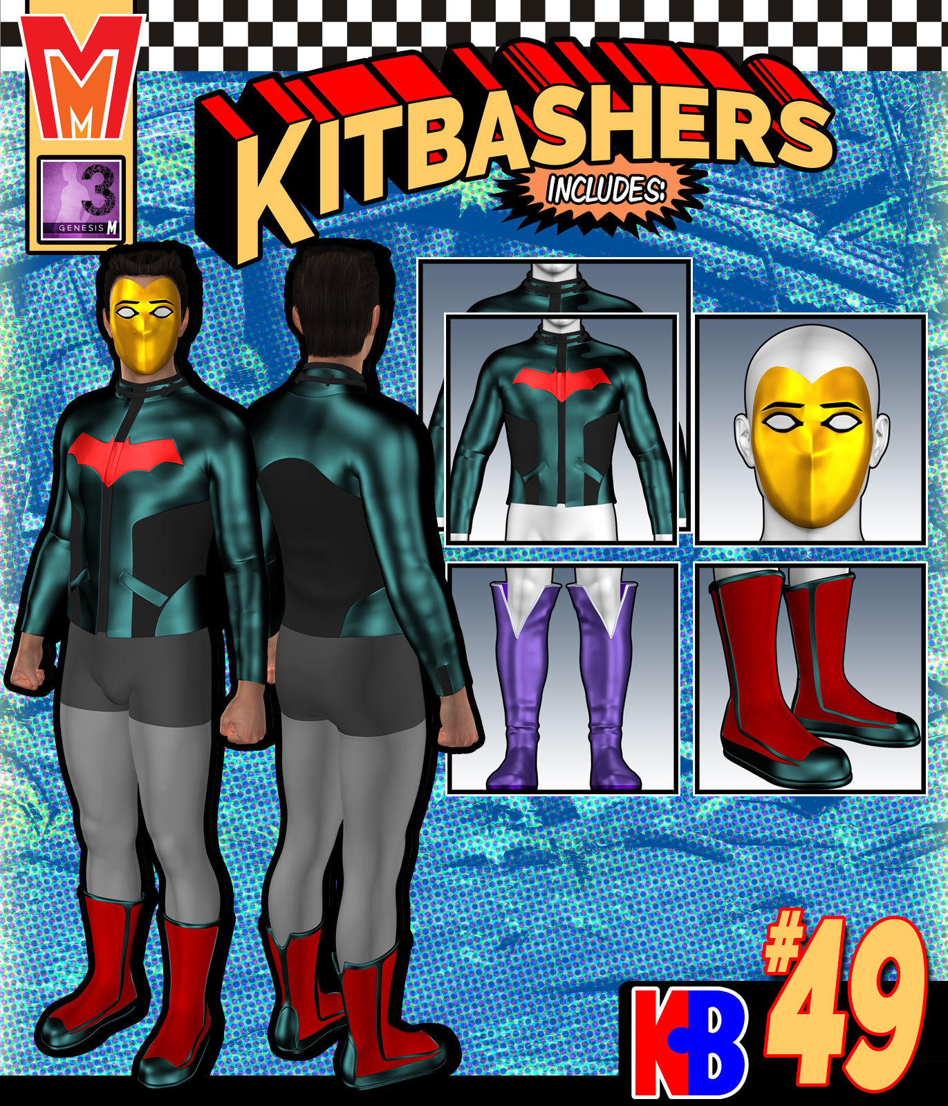 Kitbashers 049 MMG3M by MightyMite