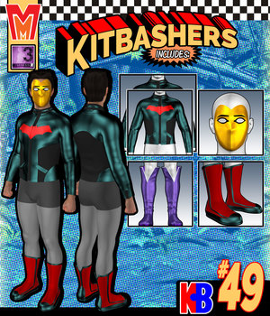 Kitbashers 049 MMG3M 3D Figure Assets MightyMite
