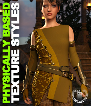 OOT PBR Texture Styles for Sabriel Outfit 3D Figure Assets outoftouch