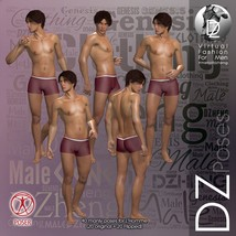 DZ LH Looking Back Poses for L'Homme image 3