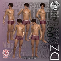 DZ LH Looking Back Poses for L'Homme image 4