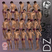 DZ LH Looking Back Poses for L'Homme image 5