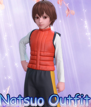 fantasy anime outfit 5 _ Natsuo clothes_ for G3 G8 Males