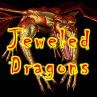 Jeweled Dragons 2D Graphics HowartH