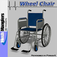 Wheel Chair 3D Models keppel