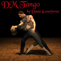 DM Tango 3D Figure Essentials 3D Models Danie