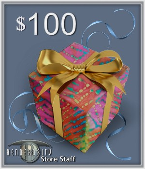 $100 Gift Certificate Services/Rosity Stuff Store Staff