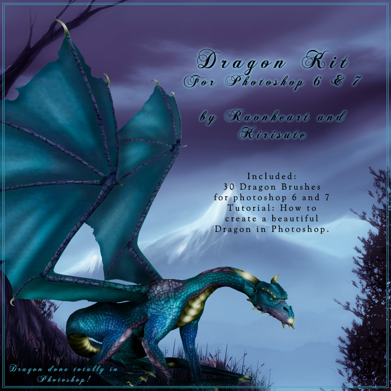 Dragon Kit for Photoshop 6 & 7