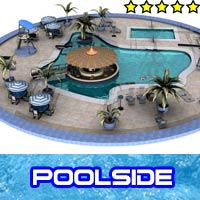 Poolside 3D Models Stringy